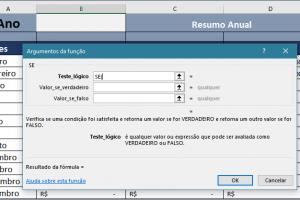 Função SE do Excel