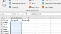 Usando o Assistente de AutoSoma no Excel
