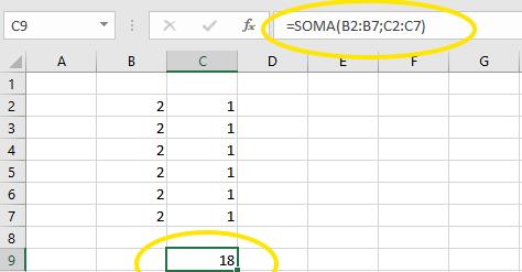 A Função SOMA no Excel