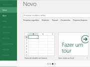 Trabalhar com planilhas de Excel Online
