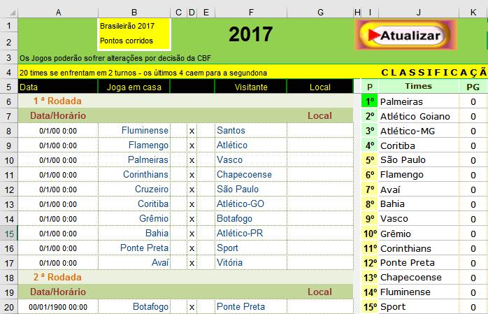 brasileiro serie a 2017