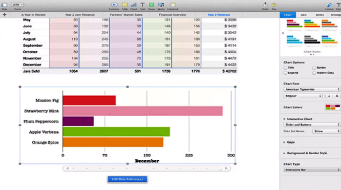 Edite Planilhas Do Excel Com Numbers Da Apple