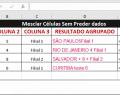Mesclar e Combinar Colunas no Excel