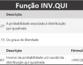 Como usar a Função INV.QUI do Excel