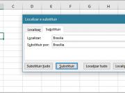 Substituir dados em células de uma planilha Excel