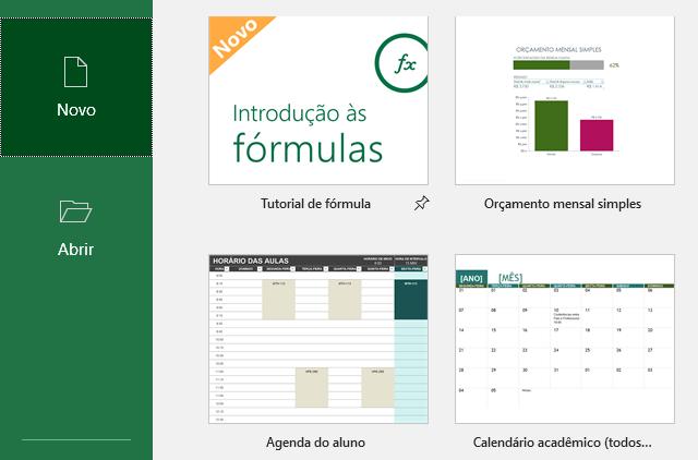 Criar um modelo de orçamento do Excel a partir do zero