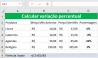 Como Calcular a Variação Percentual no Excel