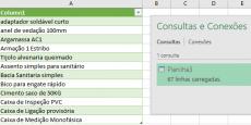 Editando conexões de dados no Excel manualmente