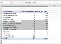 Construindo Tabela Dinâmica nos Relatórios do Excel
