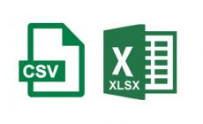 Diferença Entre Excel e CSV