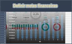 Definir metas financeiras com Excel