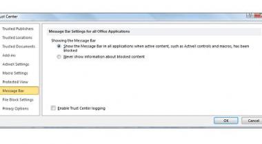 Desabilitar mensagens de alerta e aviso no Excel