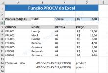 Função PROCV do Excel Como Usar