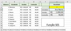 A função SES do Excel 2016