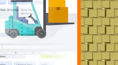 Gerenciamento de Estoque e Vendas com Excel