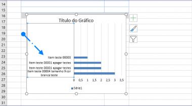 Como Inverter a Ordem dos Dados de um Gráfico na Planilha