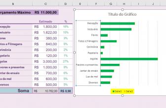 Como Inverter a Ordem das Categorias do Eixo do Gráfico no Excel