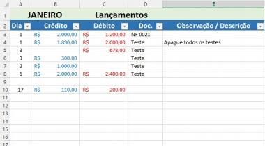 Como calcular a taxa de crescimento no Excel