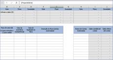 Planilhas de Excel para Controle de Estoque Fluxo de Caixa Orçamentos
