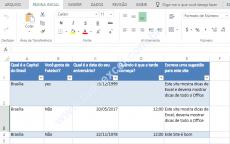 Como Criar Uma Pesquisa Com o Excel Online